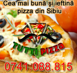 Site Tutti Pizza Sibiu